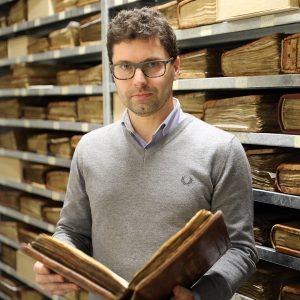 Timoty Leonardi foto profilo Biblioteca Capitolare